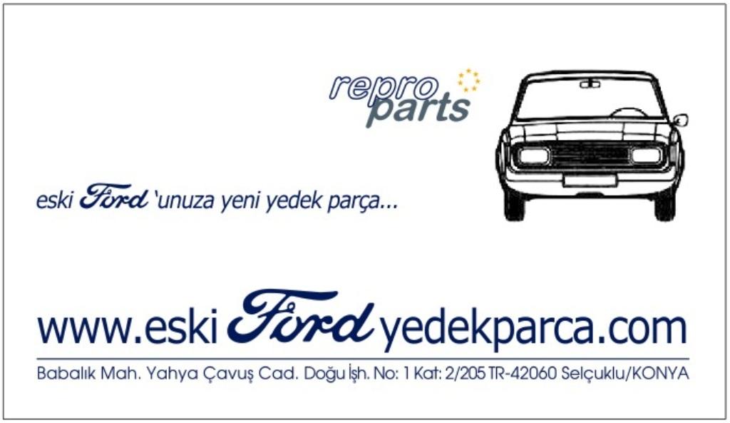 eski Ford unuza yeni yedek parça - Habib ARICI